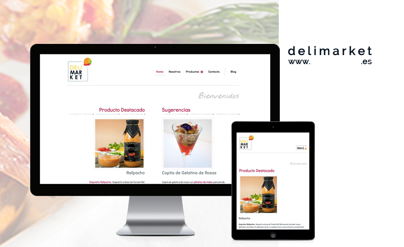 Diseño Web para Delimarket