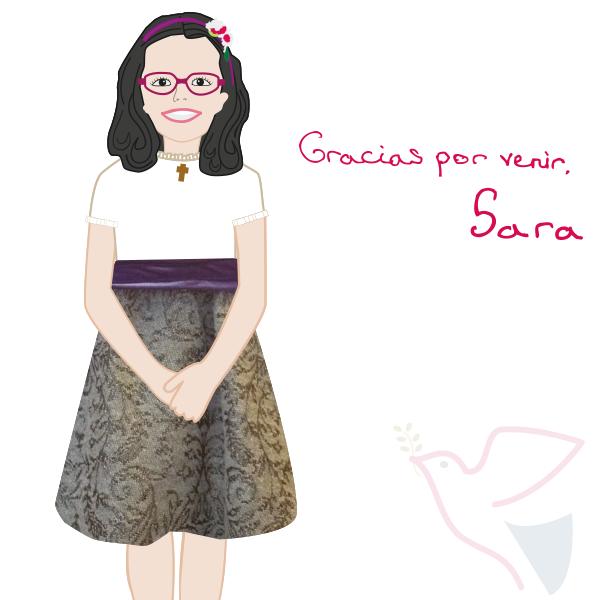 Recordatorio Comunión de Sara
