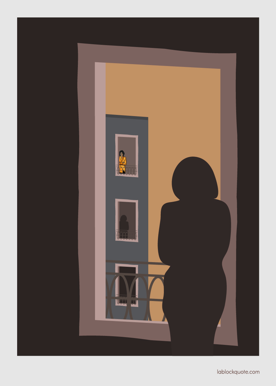 Ilustración mujeres solas